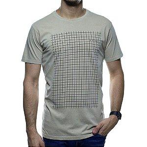 Camiseta de Malha Foxton Areia