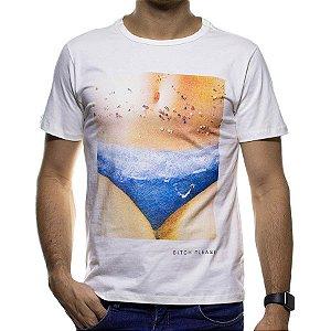 Camiseta Malha Sergio K Branca Bitch Please