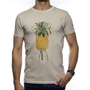Camiseta de Malha Foxton Bege Abacaxi