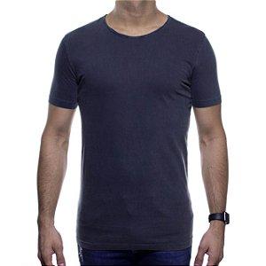 Camiseta Malha King e Joe Cinza Escuro Basica