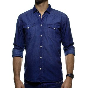 Camisa Social King e Joe Jeans Regular Fit