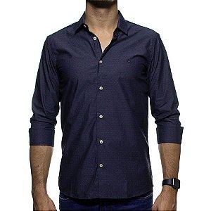 Camisa Social King e Joe Poa Chumbo Regular Fit