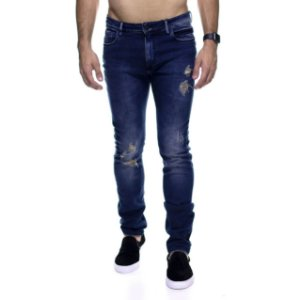 Calça Jeans King e Joe Rasgada