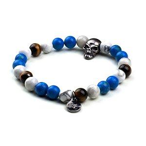 Pulseira Urbo Blue Skull