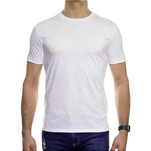 Camiseta de Malha VR Branca Básica em Algodão Pima