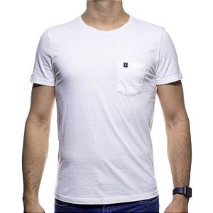 Camiseta Malha Sergio K Off White Lisa Com Bolso