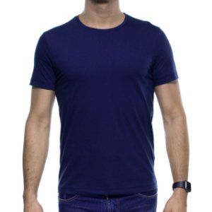 Camiseta Malha Sergio K Basica Marinho