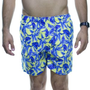 Short King e Joe Amarelo Floral