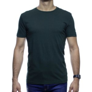 Camiseta de Malha VR Verde Basica 100% Algodão