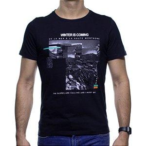 Camiseta Malha Sergio K Winter Is Comming