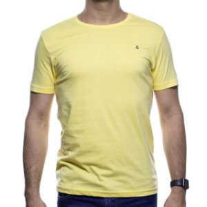 Camiseta Malha King e Joe Amarela Basica