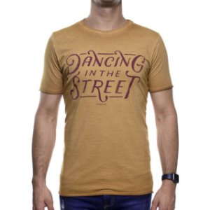 Camiseta Malha King e Joe Marrom Dancing In The Street