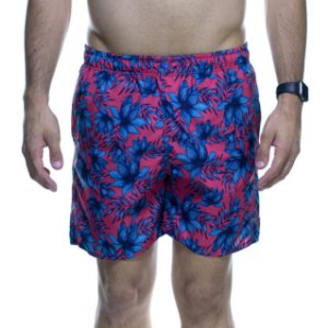 Short King e Joe Goiaba Floral Azul