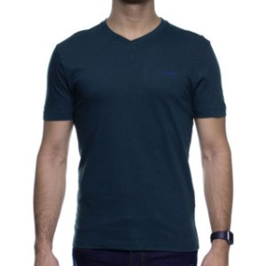 Camiseta Malha Calvin Klein Verde Escuro