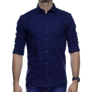 Camisa Social King e Joe Marinho Basica Regular Fit