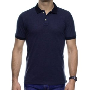 Camisa Polo King e Joe Micro Estampa Preta