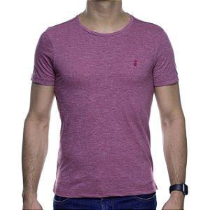 Camiseta Malha Sergio K Basica Goiaba Destonado