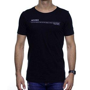 Camiseta de Malha Urbô Patience Preta