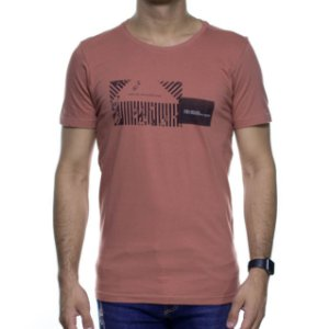Camiseta de Malha Urbô Keep On Ferrugem