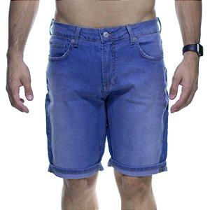 Bermuda Jeans Calvin Klein Azul Claro