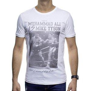 Camiseta Malha King e Joe Off White Muhammad Ali