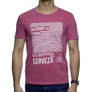 Camiseta Malha Sergio K Salvemos La Terra
