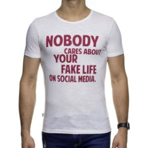 Camiseta Malha Sergio K Fake Social Media