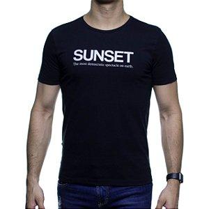 Camiseta Malha Sergio K Sunset