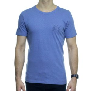 Camiseta de Malha Urbô Harmony Eco Azul