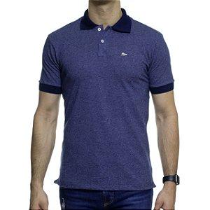 Camisa Polo Urbô Binado Azul
