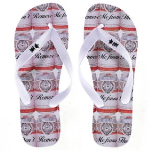 Chinelo Sergio K Don't Remove Me From Branco