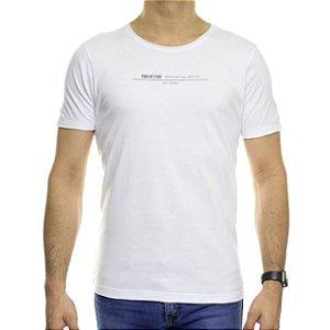Camiseta de Malha Urbô Your Attitude Branca