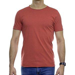 Camiseta de Malha Urbô Basica Eco Vermelha