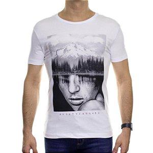 Camiseta de Malha Saultin Savage Branca