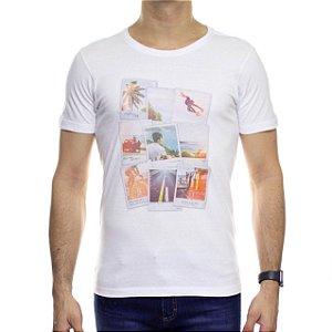 Camiseta de Malha Urbô Pictures Branca