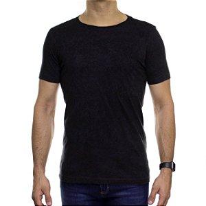 Camiseta de Malha Urbô Color Line Preta