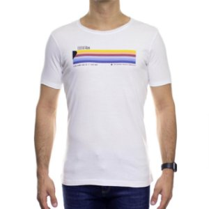 Camiseta de Malha Urbô Slow Down Branca
