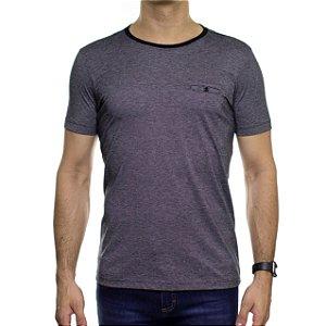 Camiseta de Malha Urbô Metropolitan Preta