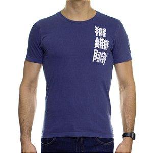 Camiseta Malha Sergio K After Party Marinho