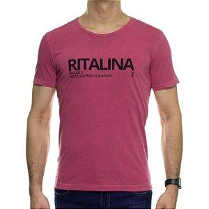 Camiseta Malha Sergio K Ritalina Goiaba