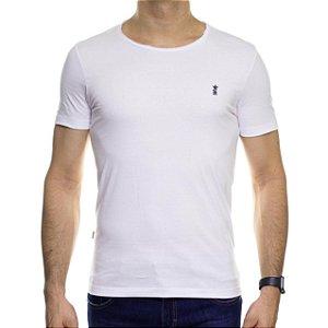 Camiseta Malha Sergio K Mia Life Guard Branca