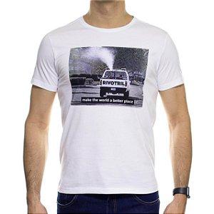 Camiseta Malha Sergio K Rivotril Branca