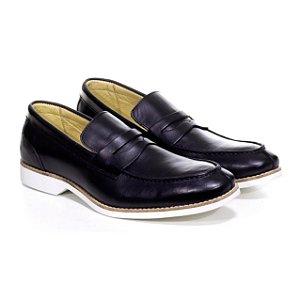 Sapato Social Loafer Latego Preto