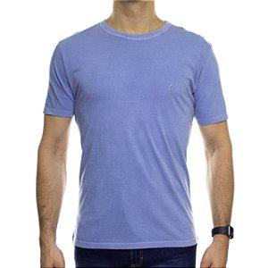 Camiseta de Malha Ankor Basica Azul