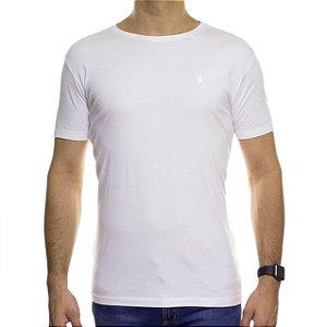 Camiseta de Malha Ankor Basica Branca