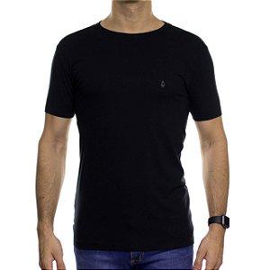 Camiseta de Malha Ankor Basica Preta
