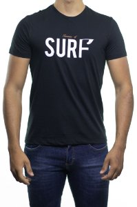 Camiseta Malha Sergio K Therapy Surf Preta