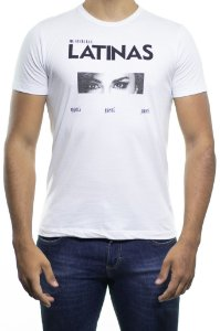 Camiseta Malha Sergio K Latinas Branca