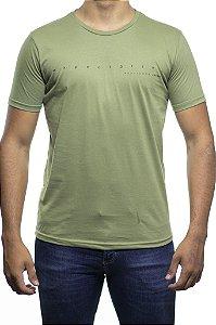 Camiseta Malha King e Joe Expectativa Realidade Verde Militar