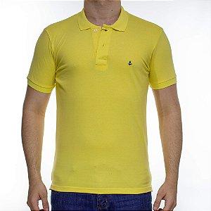 Camisa Polo King e Joe Basica Amarela